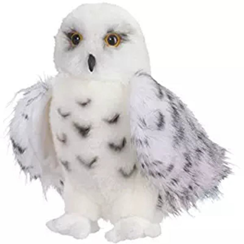 Harri Potters Pets Hedwig Snowy White Owl Stuffed Plush Toys Doll
