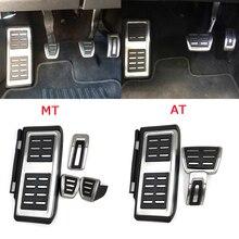Pédale en acier inoxydable pour VW GOLF 7 GTi MK7 Lamando POLO A05 Passat B8 Skoda Octavia rapide 5E 5F A7 2014 + accessoires de voiture