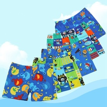 Qrxiaer Swimming Trunks Children Swimsuits Beach Panties Quick Dry Shorts Kids Underwear Cartoon Animal Elephant Boxers Shorts