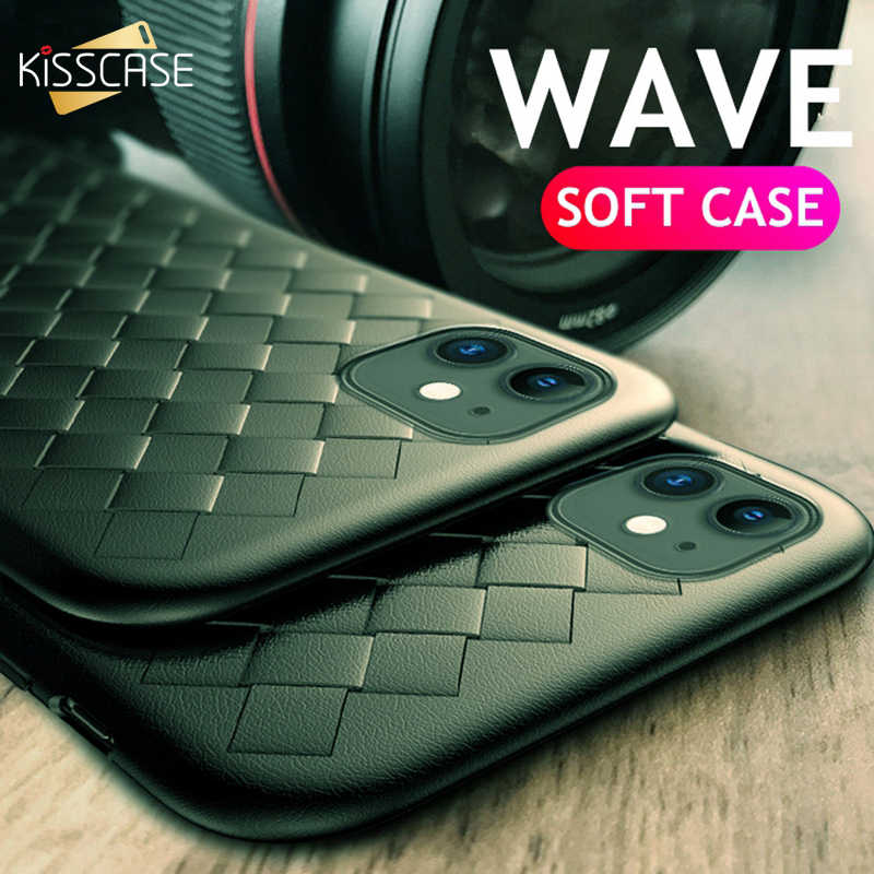 Phone Case For Iphone 11 Pro Max Case Midnight Green Weaving Grid Case For Iphone X Xs 5 5s Se 6 6s 7 8 Plus Xr Silicone Cover Fitted Cases Aliexpress