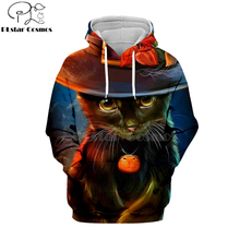 PLstar Cosmos jack skellington black cat party 3d hoodies/shirt/Sweatshirt Winter Christmas Halloween streetwear-14