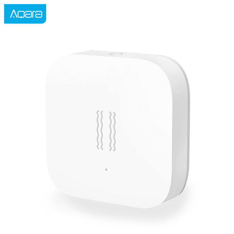 Aqara Vibration Sensor Zigbee Shock Sensor Anti-entry Security Alarm Device Built In Gyro Motion Sensor For Mi Home App