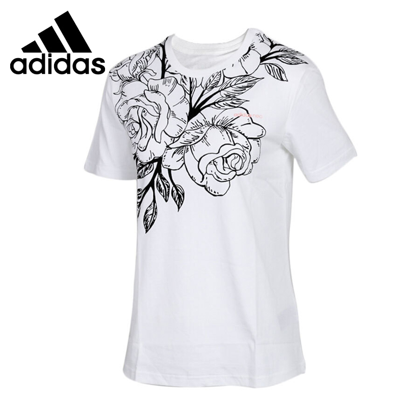 Original New Arrival  Adidas NEO Label W CS RO FRAMG T Women's T-shirts Short Sleeve Sportswear
