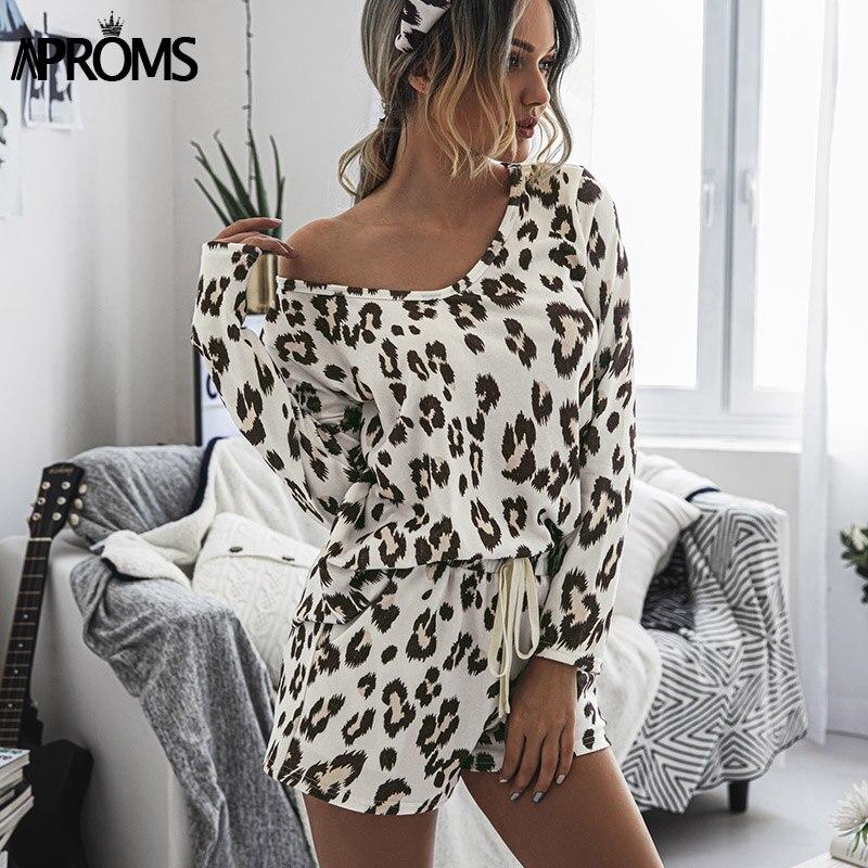 Купить aproms винтажный комплект из 2 предметов с леопардовым принтом