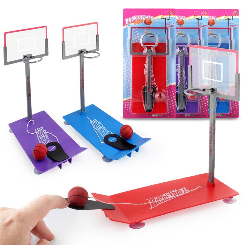 Support de Basket-ball jouets intérieur extérieur Basket-ball jouet en plastique Portable panier support enfants Portable interactif présent