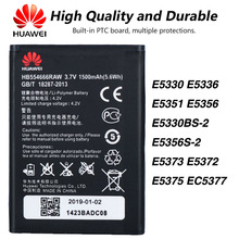 Original Huawei HB554666RAW WIFI Router battery For Huawei E5330 E5336 E5351 E5356 E5330BS-2 E5356S-2 E5373 E5372 E5375 EC5377 original huawei hb5f2h rechargeable li ion phone battery for huawei e5336 e5375 ec5377 e5373 e5330 4g lte wifi router