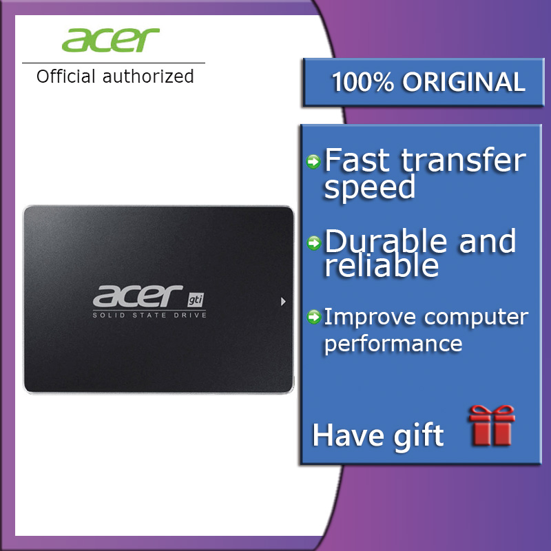 Acer ASN9C0 SSD 250GB 500GB 1TB Internal Solid State Disk HDD Hard Drive SATA3 2.5 Inch  Laptop Desktop PC QLC Disco Duro