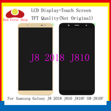 10Pcs/lot TFT LCD for SAMSUNG Galaxy J8 2018 Display Touch Screen Replacement For J810 J810F SM-J810F