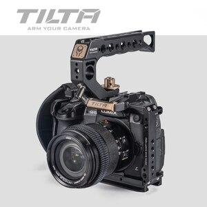 Image 1 - تيلتا TA T37 A G هيكل قفصي الشكل للكاميرا لباناسونيك لوميكس GH5 GH5S DSLR تلاعب عدة كامل قفص مقبض علوي