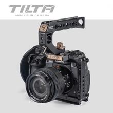 Tilta TA T37 A G klatka dla Panasonic Lumix GH5 GH5S DSLR rig zestaw pełna klatka górny uchwyt