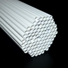 100PCS Outer Dia 10mm Sand table Diy handmade construction ABS Round pipe tube circular plastic model-making