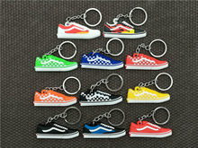 Belababy Hot Sale Cute Mini Silicone Brand Shoes Keychain Bag Charm Woman Men Kids Key Ring Gifts Sneaker Key Holder Key Chain(China)