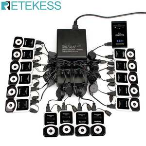 RETEKESS Microphone-Language Guide-System Audio Wireless-Tour Conference for Silent Museum