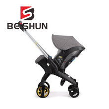 Bicycle Stroller Safety Seat Two-way Four-in-one Multi-purpose Cart Light Stroller Foldable Cart(China)