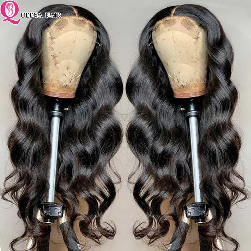 6X6 Vetersluiting Pruiken Body Wave Menselijk Haar Pruik Braziliaanse 4x 4/5X5 Lijmloze Transaprent lace Front Pruiken Voor Zwarte Vrouwen Remy Haar