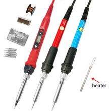 Fer à souder électrique 60W/80W, température réglable 220V 110V, écran numérique LCD, outils de station de réparation