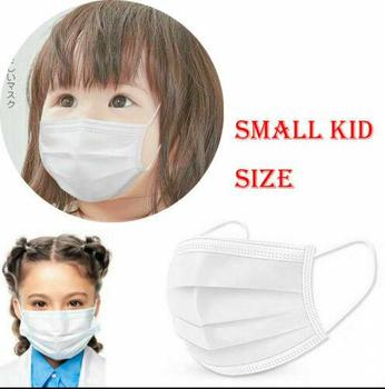 10pcs Kids Disposable Face Mask Earloop 3 Ply Anti Flu Dust Safety Respirator Protective Cover