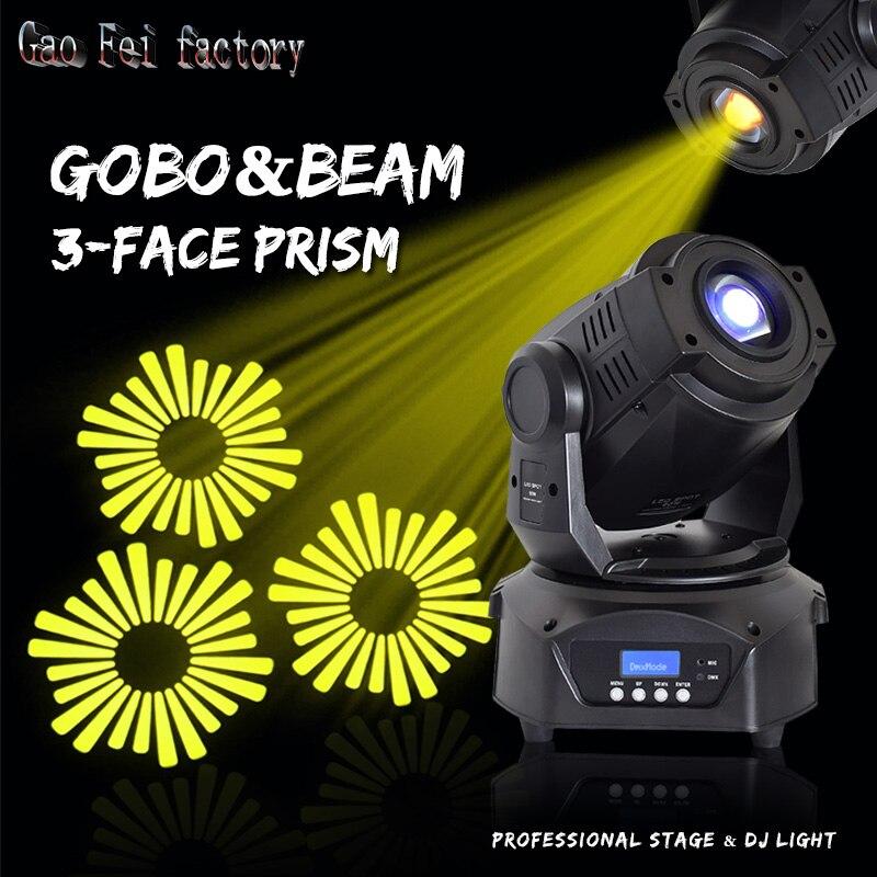 Lyre Spot cabeza móvil LED luz 90W Gobo con Prisma de 3 caras para DJ escenario teatro discoteca Linterna multifunción UltraFire Linterna recargable con USB para mantenimiento de trabajo, Luz de emergencia, Luz LED magnética, linterna