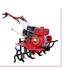 Роторный культиватор 7,5 лошадиных сил бензиновый дизельный микро-почвообрабатывающий небольшой трактор траншеи почвообрабатывающая машина