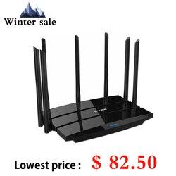 TP LINK WDR8500 Roteador موزع إنترنت واي فاي لاسلكي 2.4G/5GHz ثنائي النطاق جيجابت 2200Mbps TP-Link TL-WDR8500 واي فاي مكرر 7 هوائيات