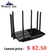 Tp Link WDR8500 Roteador Wireless Router Wifi 2.4G/5 Ghz Dual Band Gigabit 2200Mbps Tp-Link TL-WDR8500 Wi-Fi Ripetitore 7 Antenne