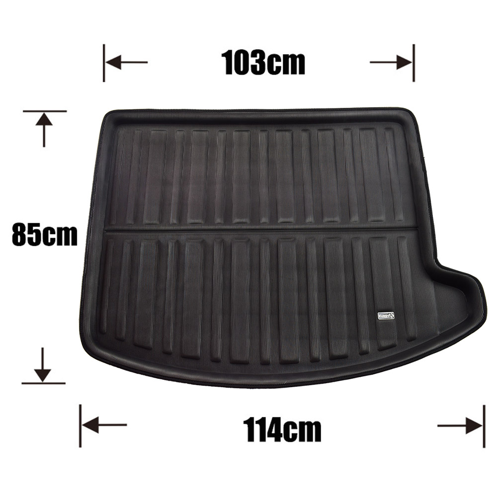 Image 3 - For Ford Escape Kuga 2013 2014 2015 2016 2017 2018 Boot Mat Rear Trunk Liner Cargo Floor Tray Carpet Protector Car Accessories