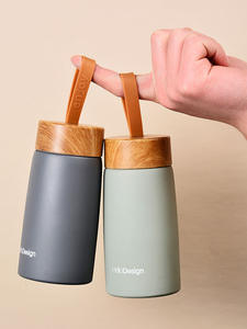 Travel Mug Tumbler Water-Bottle Vacuum-Flask Insulated Coffee Mini Portable 304-Stainless-Steel