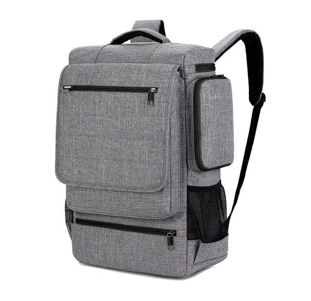 Zaino del computer portatile per 18 notebook da 18.4 pollici uomo delle donne di grande capacità di borsa da viaggio sacchetto di affari per Lenovo sony