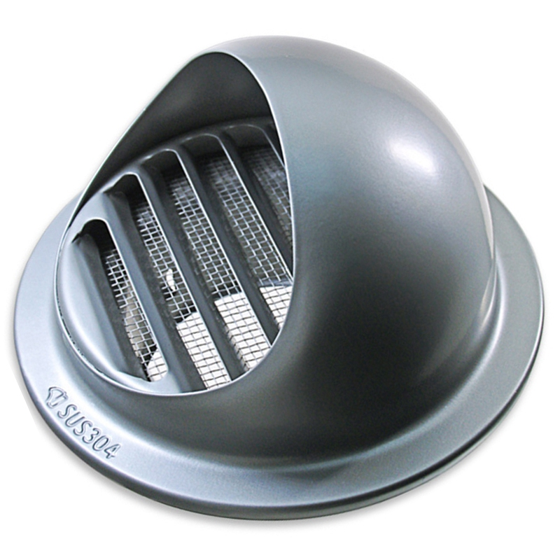 Stainless Steel Wall Ceiling Air Vent Ducting Ventilation Exhaust Grille Cover Outlet Heating Cooling & Vents Cap Waterproof