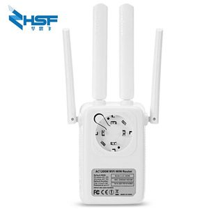 Image 3 - AC1200M Wireless Relay Wifi Signal Amplifier Router 5G High Power Wall Crossing Expander Factory