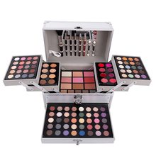 Set Make-up Kit Make-Up Set Box Professionele Make Volledige Koffer Make-Up Set Matte Lippenstift Makeup Borstels Manicure Gereedschap(China)