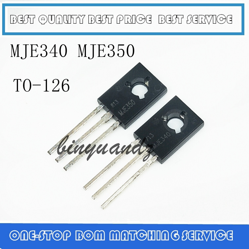 20pcs/lot MJE340 MJE350 ( 10PCS MJE340 + 10PCS MJE350 )TO-126 IC Best Quality.
