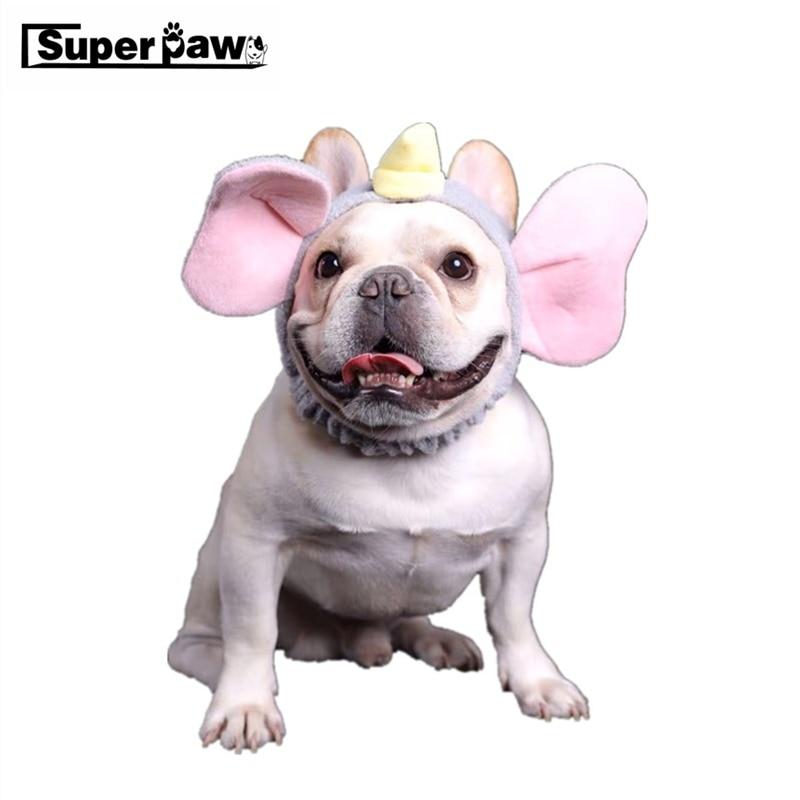 font b Pet b font Dog Big Ear Elephant Hat Transformation Cap French Bulldog Headgear