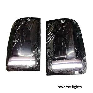 Image 5 - Luces led traseras para coche, luces traseras con señal de giro, aptas para vw amarok v6