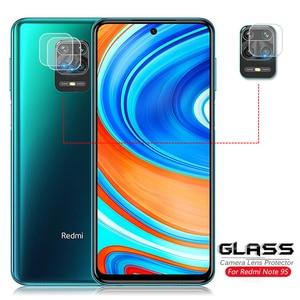 Image 4 - 2Pcs For Xiaomi Redmi 7A Glass For Xiaomi Redmi Note 9S 8 7 Pro 6 6A 8A 8T Tempered Glass Film Screen Protector Camera Lens Film