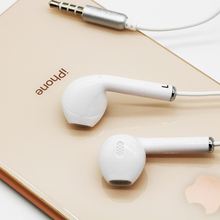 3.5mm Stereo Music In-ear Earphone Portable Gaming Headset Bass Earbud Wired Headset with Microphone for Apple Earpod C32 Style 3 5mm stereo music headphones portable earphone wired in ear headset no bluetooth with microphone for xiaomi iphone