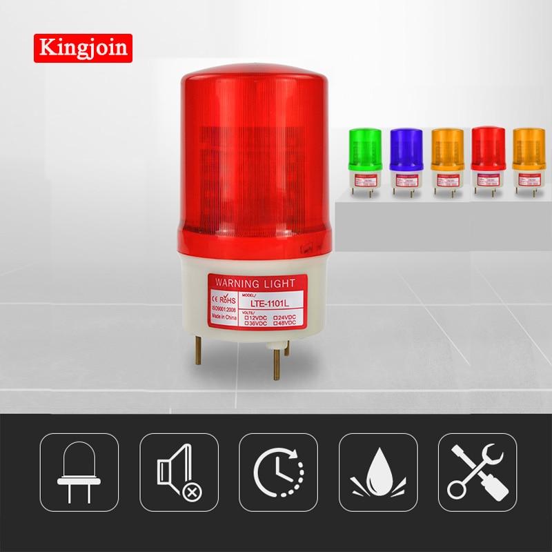 24V 12V 220V 110V RED Warning Light LED Lamp Beacon For Gsm Alarm Sirena Alarma  System Politie Strobe Light