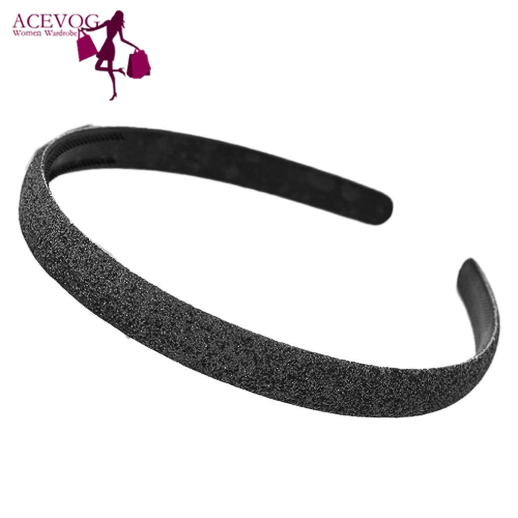 Women Fashion Solid Sequin Headband Hair Band Gift Casual, Street, Outdoor Spring, Summer, Fall