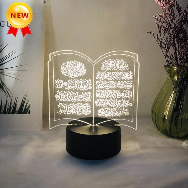 Neue Eid Adha Urlaub DIY Dekorationen Lokalen Eid al Adha Led licht eid mubarak Ramadan Dekorationen hause dekoration ramadan kareem