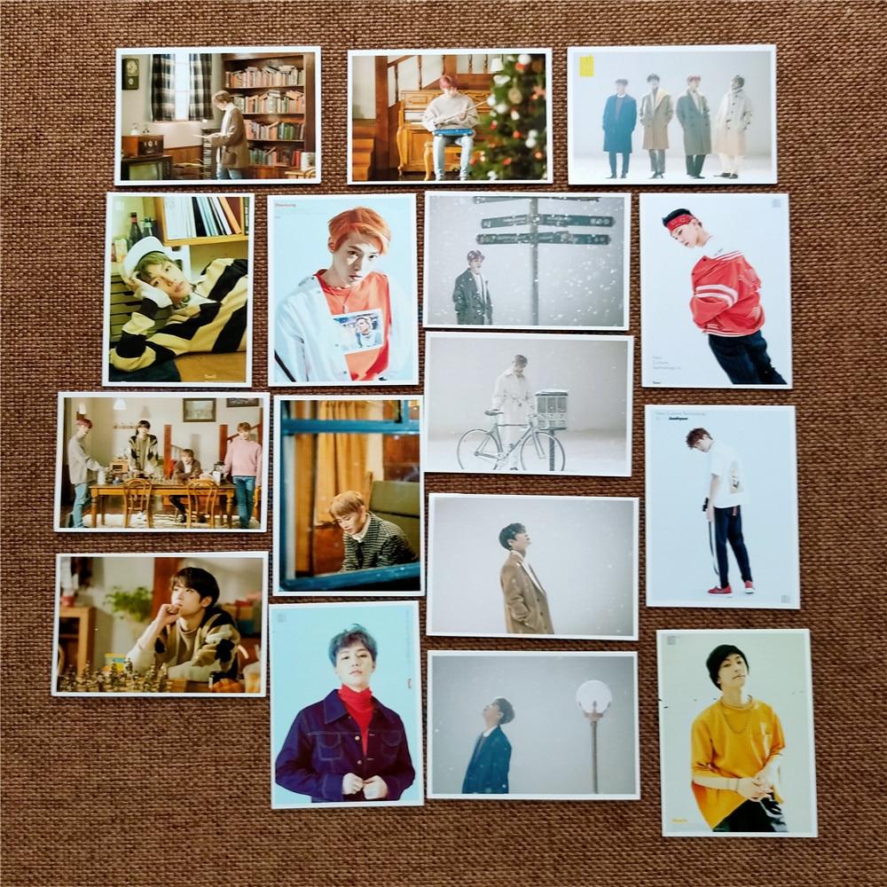 16pcs/set Kpop NCT U Photocard New Ablum Coming Home NCT Photo Lomo Card Postcard Peripheral New Arrivals