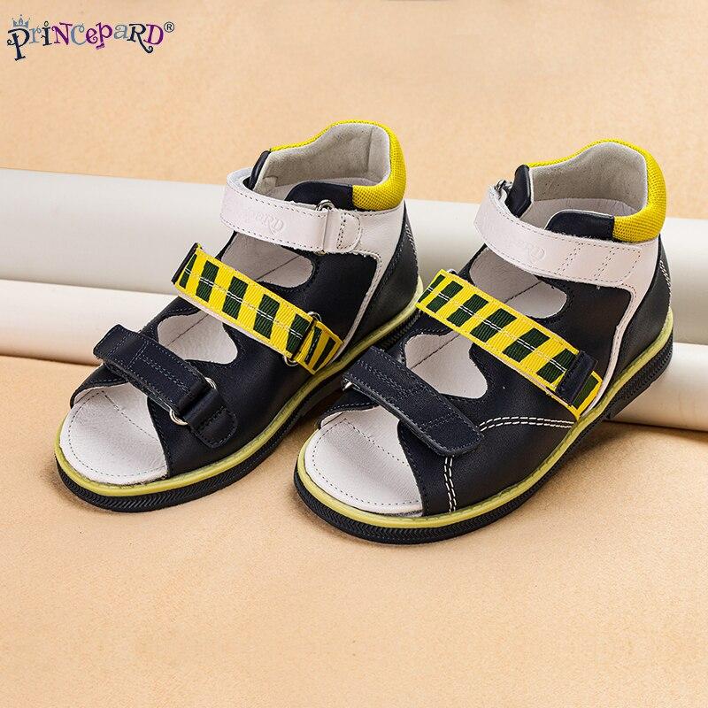 princepard meninas sandalias criancas sapatos de couro 05