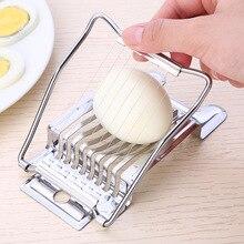 Овощерезки для яиц, измельчитель из нержавеющей стали, фруктовый резак, инструменты для яиц, ручные Кухонные комбайны, кухонные инструменты, гаджеты, кухонные инструменты