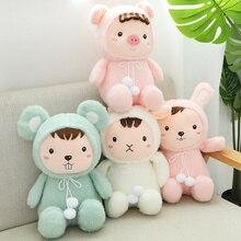 купить 30cm/40cm/50cm Soft Kawaii Rabbit&Pig Plush Toy Cartoon Animal Cattle&Mouse Stuffed Doll Home Decoration Baby Birthday Best Gift дешево