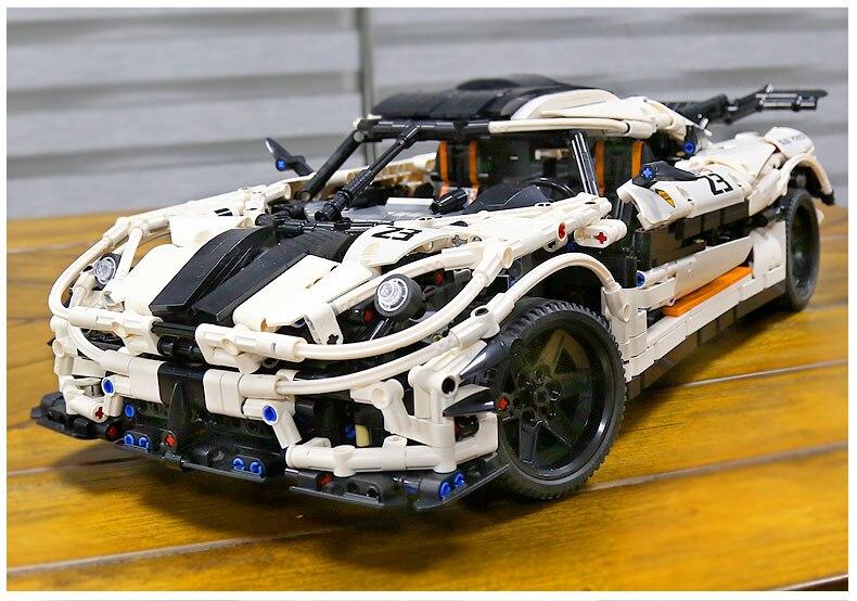 MOC-4789 branco velocidade corrida modelo de carro
