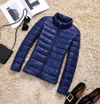 New Brand 90% White Duck Down Jacket Women Autumn Winter Warm Coat Lady Ultralight Duck Down Jacket Female Windproof Parka 12