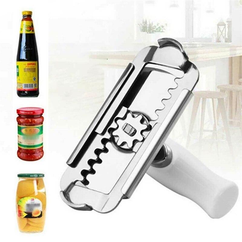 Stainless Steel Cork Screw Corkscrew Wine Cap Opener Beer Cap Bottle Opener Kitchen Bar Tools Accessories Easy To Use