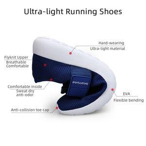 Image 3 - 2020 dos homens sapatos casuais malha leve respirável esportes tênis de corrida moda confortável sapatos homem apartamentos