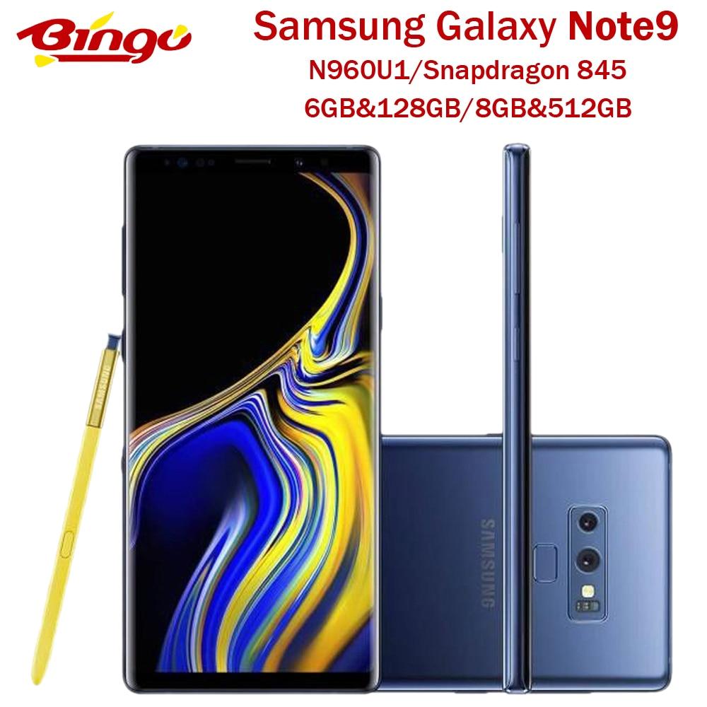 "Samsung Galaxy Note9 Note 9 N960U Original Unlocked Mobile Phone Snapdragon 845 Octa Core 6.4"" Dual 12MP RAM 6GB ROM 128GB NFC|Cellphones| - AliExpress"