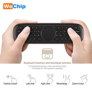 Image 4 - Wechip W2 Mini Keyboard with Touch Pad Mouse 2.4G Wireless Fly Air Mouse Voice Remote Control For Tv Box/Mini Pc/Tv PK Wechip W1