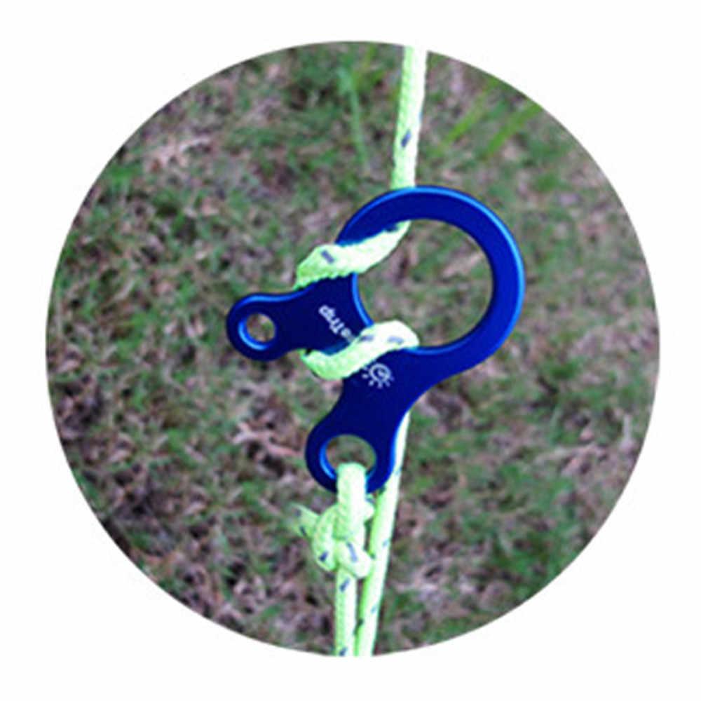 Caminhadas ao ar livre portátil primavera fivela snap liga níquel-livre chapeamento porta-chaves mosquetão edc gancho caminhadas ferramentas acessórios a3083